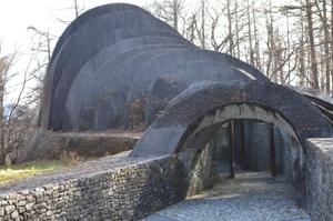 冬の石の教会