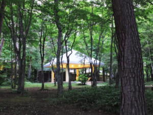 軽井沢高原教会東屋